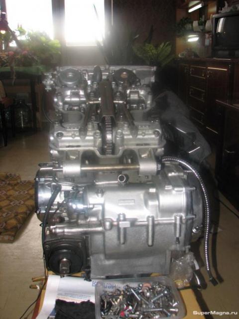 Двигатель VF750C 0006
